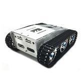 Châssis auto-assemblé de voiture de réservoir de robot de RC avec le kit de chenille