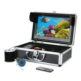 Underwater 10inch Camera HD Visuell Fiske System Med LCD-skjerm IR / LED Light Infrarød Lampe Ice Fishing Hot Sell
