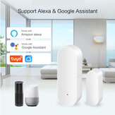 EARYKONG WiFi Door and Window Sensor Wireless Tuya Smart Door Open Closed Detectors Compatible With Alexa Google Home Tuya APP