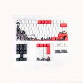 110 Keys Monkey King Keycap Set OEM Profile PBT Five-sided Sublimation Keycaps for Mechanical Keyboards