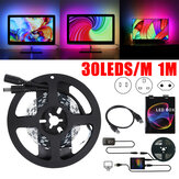 1M DIY Ambilight PC USB 30LED Smart Strip Light do monitora komputerowego Podświetlenie ekranu LCD Wtyczka US / EU / UK