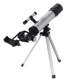 90X Telescópio Monocular Astronômico Profissional Espaço Refletor Âmbito Refrator Tripé Lente Barlow 2 Oculares