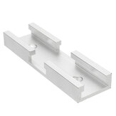 Machifit 80mm T-track-connector T-slot Mitre Track Jig Armatuur Slotconnector voor routertafel