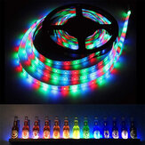 Bakeey 5V USB Power LED Strip Lights 3528 RGB TV Backlight Bluetooth APP Remote Music