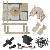 HG P801 P802 Spare Conversion Set 8ASS-802 1/12 RC Car Military Truck Vehicles Model Parts