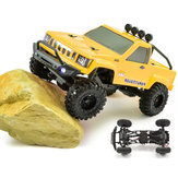 RGT RC Auto 1/24 136240 4WD 4x4 Lipo mini Monster off-road truck RTR Rock Crawler met verlichting