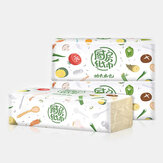 3 Packs Bamboo Pulp Draw Paper Natural Pumping Two-layer Thickening Soft Tissue for Kitchen Absorbent Paper