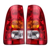 Car Tail Light Brake Lamp Red with No Bulb Left/Right for Toyota Hilux 2005-2011