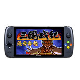 ANBERNIC PS7000 32GB 64GB 10000 Games 128 Bit 7 inch HD Retro Handheld Game Console Ondersteuning PS NEOGEO N64 SFC GBA MD Arcade Game Player met bekabelde gamepad