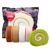 Cake Squishy Swiss Roll 7cm Langsomt stigende Funny Gift Collection med emballage