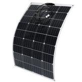 100W 18V zeer flexibel monokristallijn zonnepaneel tegel monopaneel waterdicht