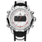 WEIDE 6406 Silver Case Luminous Dual Display Digital Menonton