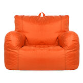 Sofa Cover Without Filler Lazy Sofa Chairs Cover Oxford Cloth Waterproof Lounger Seat Bean Bag Pouf Couch Seat Protector