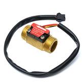 Voller Kupfer-Wasserdurchfluss-Sensor 1.75Mpa G1/2 Pulse Hall Durchflussmesser 1-25L / Min