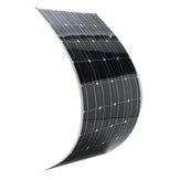 Elfeland® SP-36 120 W 12 V 1180 * 540mm Monocristalino Semi Flexível Painel Solar Com Cabo de 1.5 m & Junção Traseira Caixa