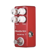 MOSKY CRUNCH RED Distortion Gitarren-Effektpedal Vollmetall-Schale True Bypass