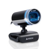 A4Tech PK-910 HD 1080P Webcam CMOS 30FPS USB 2.0 Built-in Microphone Webcam HD Camera for Desktop Computer Notebook PC