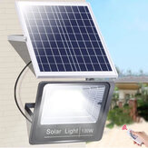 44 / 170LED Solar Apliques al aire libre Impermeable Infrarrojos Jardín Lámpara