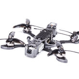 Flywoo Mr.Croc-HD 6 Inch 6S Freestyle FPV Racing Drone BNF DJI FPV Air Unit F7 Bluetooth FC GPS 1750KV 50A BLheli_32 ESC Titanium
