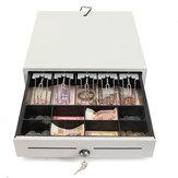 Heavy Duty Elektroniczna blokada szuflady kasowej Cash Tidy Register POS 5 Bills 8 Coins Tray