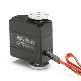 Servomoteur numérique biaxial à 180 degrés à grand couple DSServo RDS3115MG 15KG pour robot RC