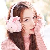 Женское Милый кролик Свинья Шаблон Теплые наушники Плюшевая грелка