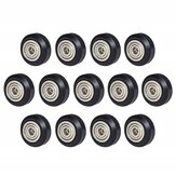 SIMAX3D® 13/24Pcs Polycarbonate Pulley Wheel Plastic Pulley Linear Bearing for Creality CR10 Ender 3 3D Printer Part