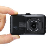 XD101 Dual Lens 3 Inch 720P Driving Recorder 170 Degree Wide Angle Lens Car DVR