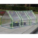 Impermeable Mini Planta Invernadero Refugio de invierno Cubierta de jardín Resistente a la corrosión Para jardín al aire libre