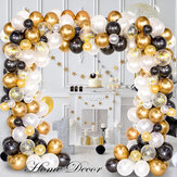 226Pcs DIY Retro Gold Balloon Garland Arch Set Chrome Gold Ballon for Birthday Christmas Graduation Weddings Party Decoration
