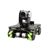 Yahboom Omniduino WIFI Video Smart Robot with Mecanum Wheel with FPV HD Camera Support APP Control/Handle Control