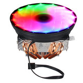 DC 12 V 4Pin Colorful Backlight 120mm CPU Cooling Fan PC Heatsink untuk Intel / AMD Untuk PC Komputer Kasus