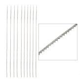 12 stücke Sägeblatt Bügelsäge blade Holzbearbeitung Sägeblatt für Einstellbare Jewlery Saw Rahmen