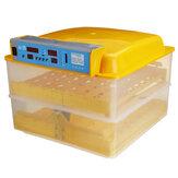 120W HHD Otomatik İnkübatör Akıllı Sıcaklık Kontrolü 112 Egg İnkübatör