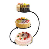 3 Tier Iron Cake Stand 60cm Height Wedding Birthday Party Display Decorations