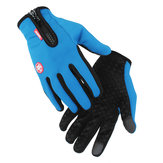 Screen Touch Bike Gloves Lente Herfst Houd Warm Moto Handschoenen Full Finger Motor Unisex