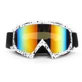 Anti-UV Dust Snow Occhiali Goggles per moto Motocross Ski Racing Scooter