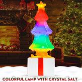 カラフルなクリスマスLEDナイトライトツリーテーブルランプクリスマスの装飾の子供のギフト