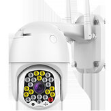 Wireless WiFi PTZ Pan Tilt IP ONVIF 1080P Camera Security Cam Outdoor with Night Vision