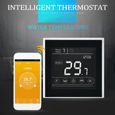 MINCO HEAT MK70GA-W AC95 ~ 240V WIFI termostato para calefacción de suelo de agua controlador de temperatura de pantalla táctil funciona con Alexa Google Home