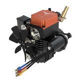 Toyan FS-S100A 4 tiempos RC Motor Metanol Motor Kit para RC Coche barco Avión RC Modelo de vehículos