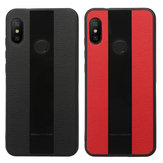 Bakeey™ Luxury Shockproof PU Leather + Soft TPU Back Cover Protective Case for Xiaomi Redmi Note 6 Pro