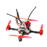 35g GEELANG WASP V2 100mm Wheelbase Play F4 Whoop 2S FC 4 In 1 ESC Toothpick FPV Racing Drone BNF with 1/4 COMS Sensor Camera
