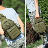 Men Nylon Camouflage Large Capacity Multi-carry Tactical Travel Outdoor Chest Bag Torba na ramię