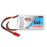 Gaoneng GNB 7.4V 550mAh 2S 80/160C Batterie Lipo JST Fiche pour Aurora 90 100