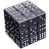 3D Relief Braille Magic Cube 3x3x3 Impressão digital Aprendizagem Educação Puzzle Magic Cube para Crianças Adulto Brinquedo Criativo