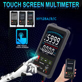Touch LCD Digital Multimeter RMS Auto Tester Transistor AC DC Voltmeter Ohmmeter