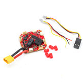 25.5x25.5mm Racerstar AIO F411 Stack 2-4S F4 FC Onboard OSD Buzzer Barometer 15A Blheli_S GH25 Brushless ESC support iNAV for FPV Racing RC Drone