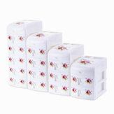 2/3/4/5 Camadas Mini Gaveta de Mesa Maquiagem Porta-joias Organizador Caixa Armazenamento Caso