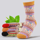 Womens Cotton Mushrooms Breathable Short Sock